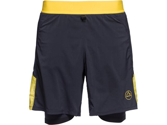 La Sportiva Velox Short Homme, black/yellow